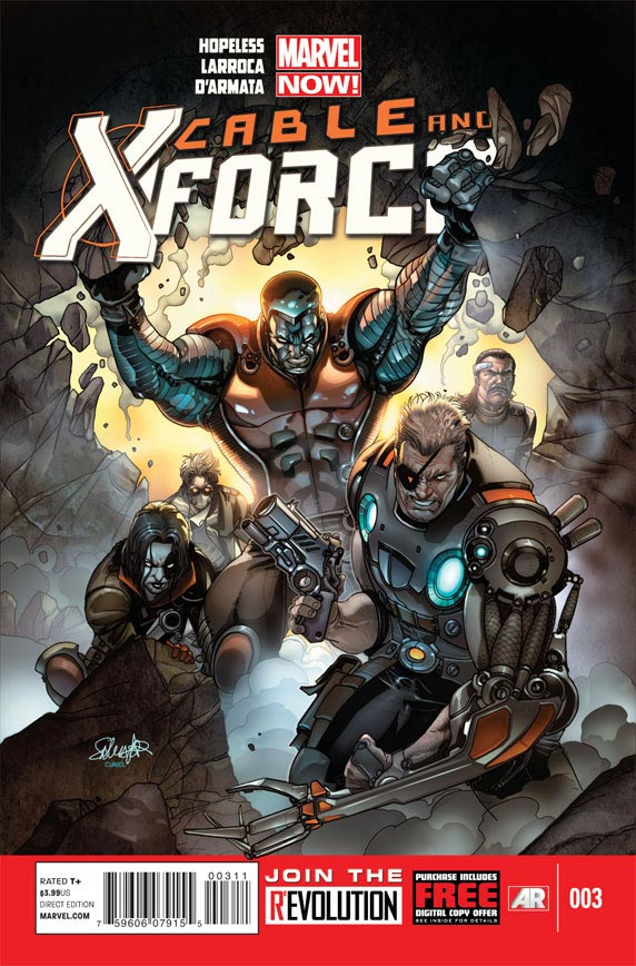 Cable and X-Force 0 | Cover