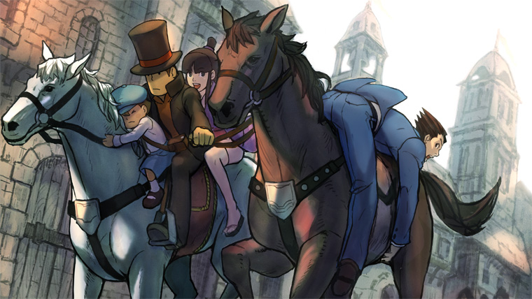 Professor Layton Vs Ace Attorney | Nuevo video con gameplay