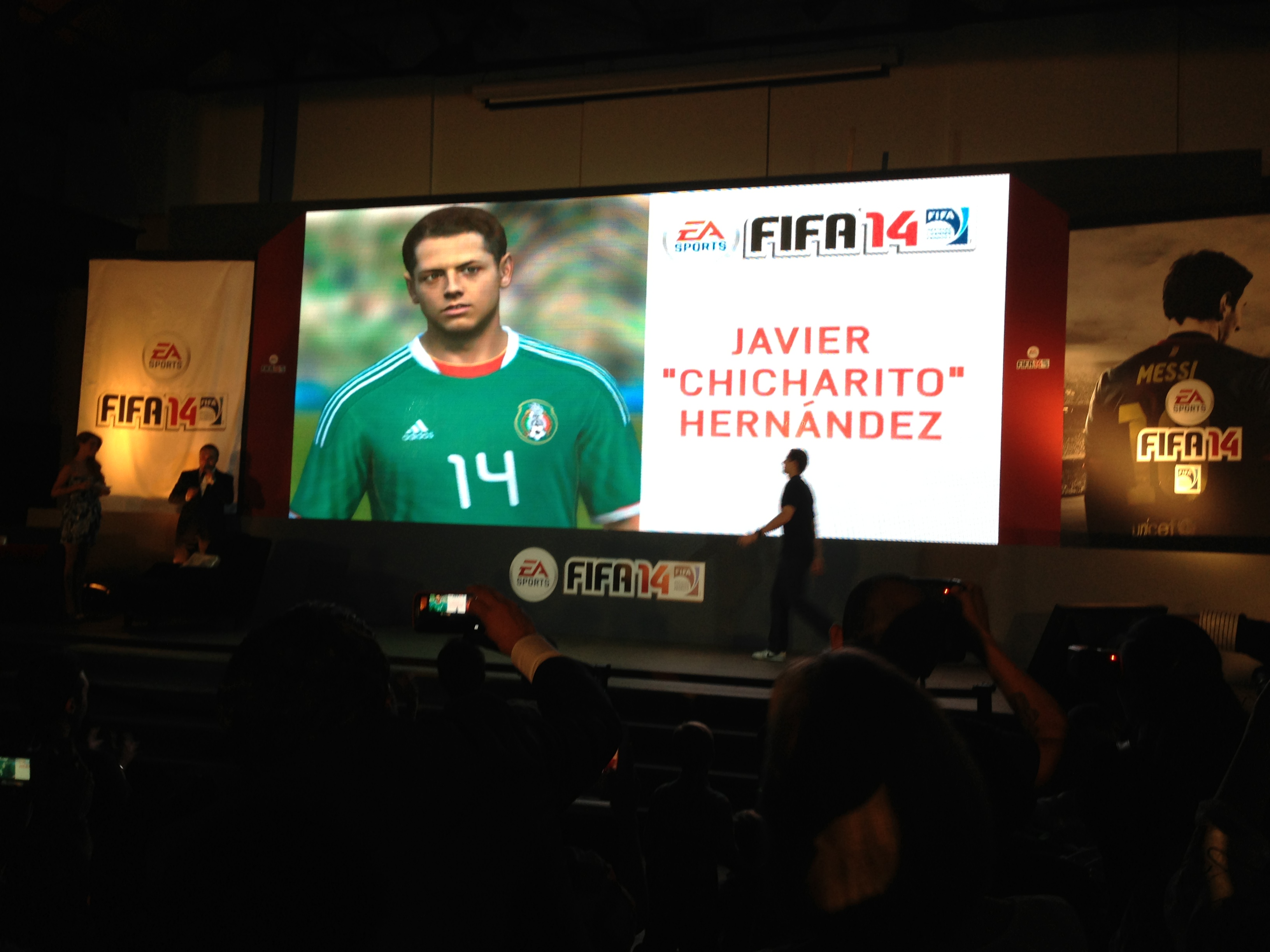 FIFA 14 - Chicharito