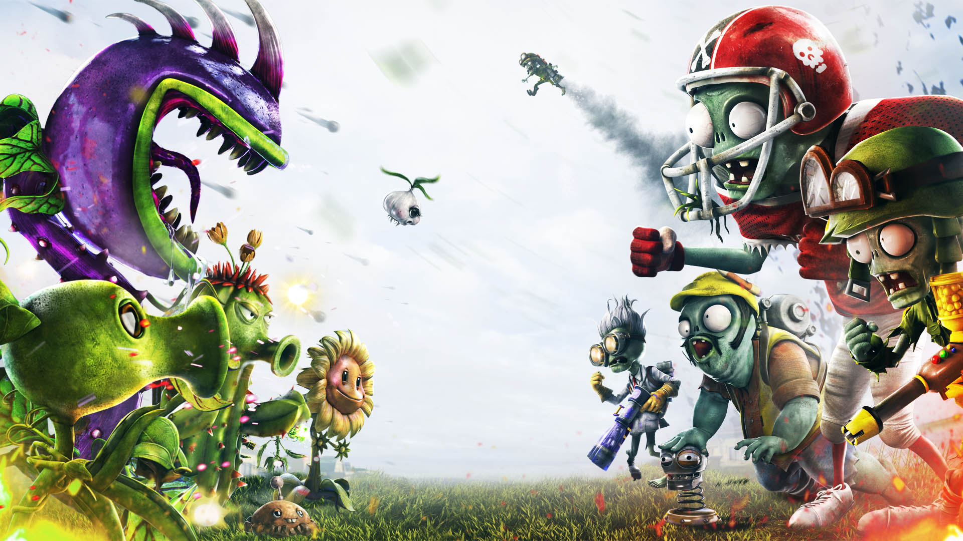 Rese A De Plants Vs Zombies Garden Warfare Ps3 Ps4