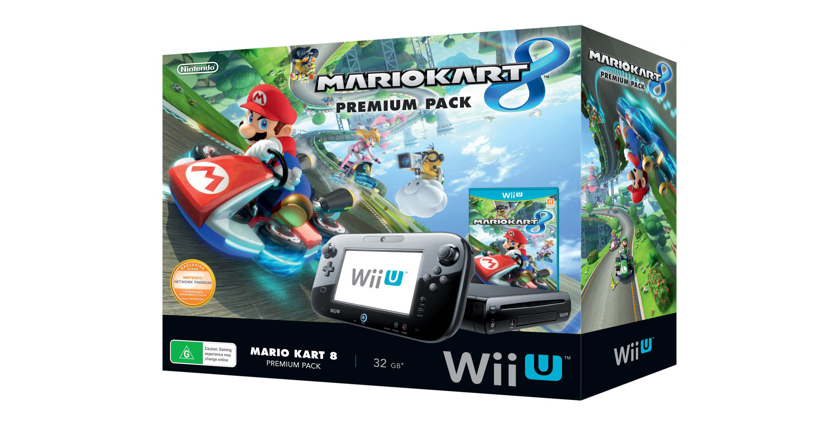 europa y australia tendr n paquete de mario kart 8 y wii u. Black Bedroom Furniture Sets. Home Design Ideas