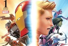 Portada variante de Civil War II #1.